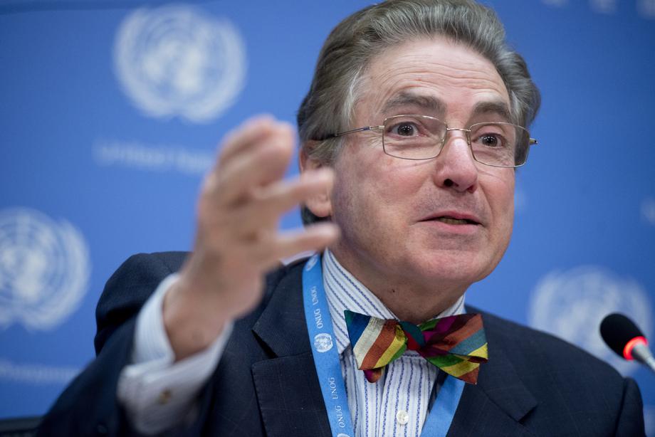 Especialista independente das Nações Unidas sobre a promoção de uma ordem internacional democrática e equitativa, Alfred de Zayas. Foto: ONU/Amanda Voisard