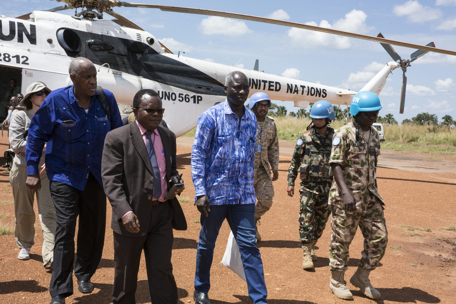 United Nations Special Advisor on Prevention of Genocide Visits Yei, South Sudan