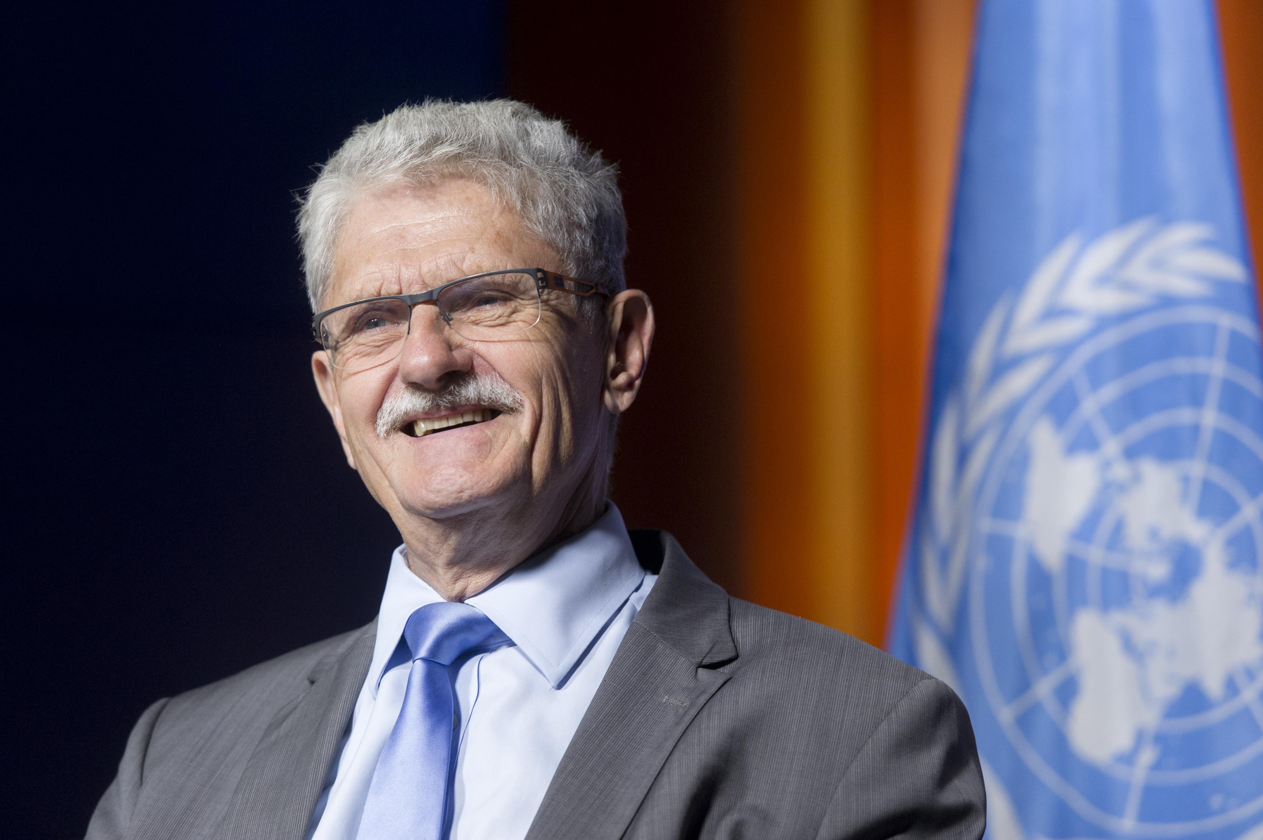 Mogens Lykketoft, predsednik 70. zasedanja Generalne skupščine Združenih narodov. (Foto - ZN)