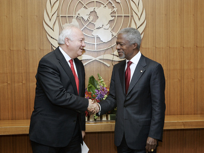 Secretary-General Meets Foreign Minister of Spain