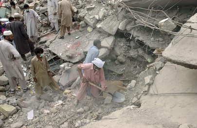 Searching for the Missing After Earthquake