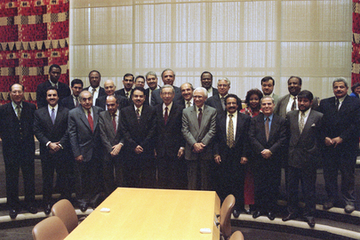 UN Secretary-General Meets with Delegates of Group of Arab States