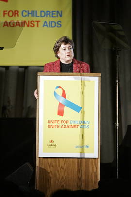 UNICEF, UNAIDS and Partners Launch New Global Campaign Against AIDS