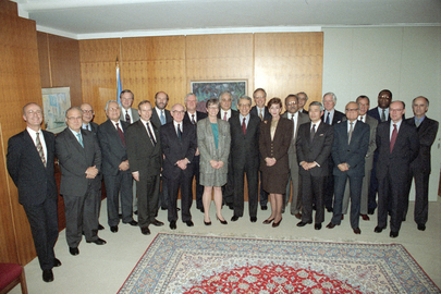 UN Secretary-General Meets with His Senior Officials