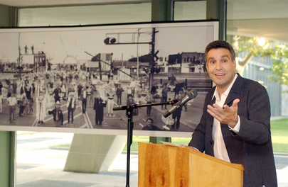CENTRE FOR JEWISH HISTORY OPENS PHOTO EXHIBIT AT HEADQUARTERS