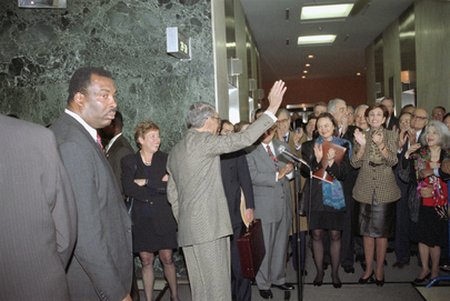 UN Secretary-General Bids Farewell to Staff