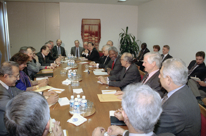 Secretary-General Meets with His Senior Officials