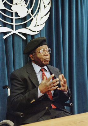 Newly Appointed Goodwill Ambassador for UNFPA, Chinua Achebe, Holds Press Conference