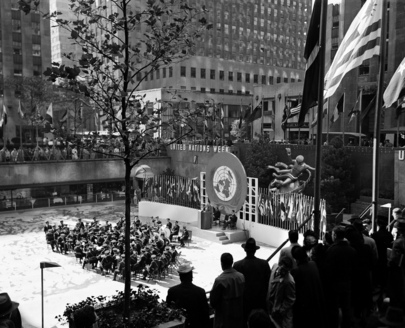 United Nations Week Celebrated at Rockefeller Plaza