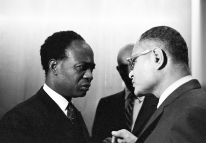 Dr. Kwame Nkrumah, President of Ghana, at U.N. Headquarters