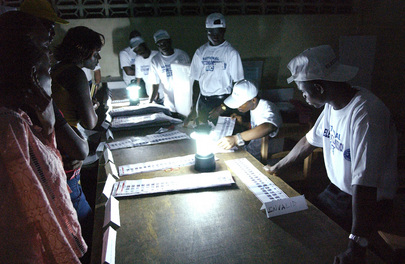 Counting The Ballots After Polls Close