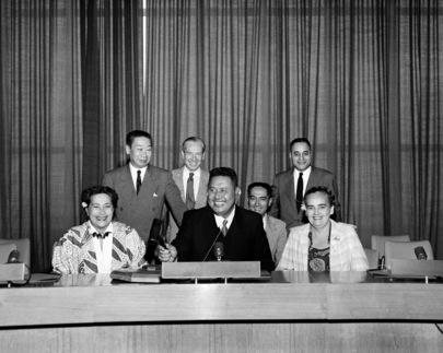Fautua of Western Samoa Visits United Nations