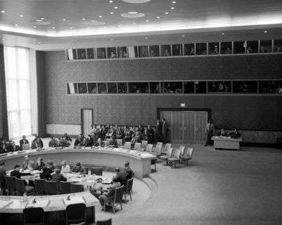 The Security Council Chamber