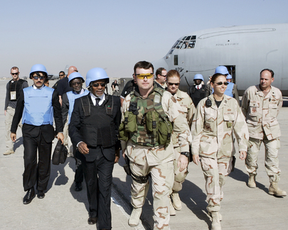 United Nations Secretary-General Arrives in Baghdad