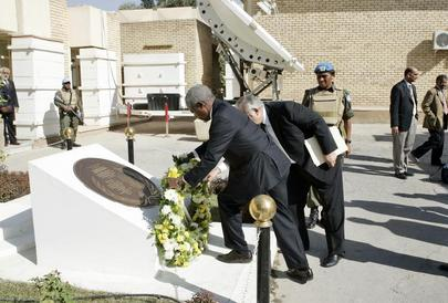 Secretary-General Remembers UN Staff Killed in Iraq