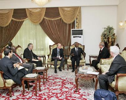 Secretary General Meets With Deputy Prime Minister of Iraq