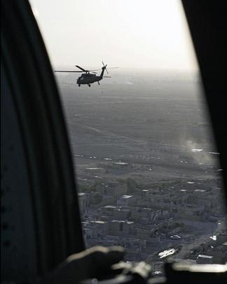 A View of Baghdad as Annan Departs Iraq After Visit
