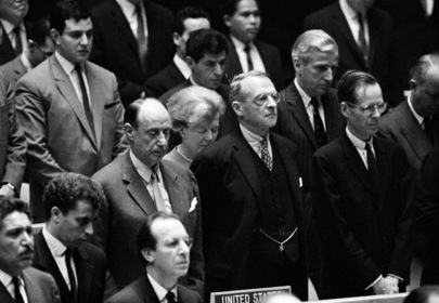 Assembly Observes Minute of Silence in Memory of President Kennedy