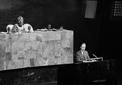 General Assembly Begins Consideration of Report on 25th Anniversary of the United Nations