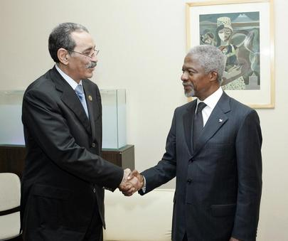 Secretary-General Meets With President of Mauritania