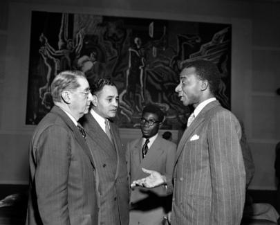 Togoland Representatives at U.N