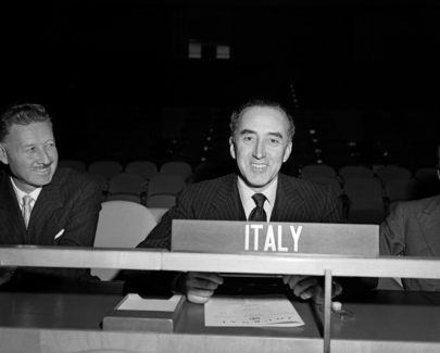 Representative of Italy Addresses the General Assembly