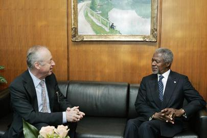 Secretary-General Meets With President of International Tribunal for the Law of the Sea