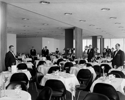 united nations photo: delegates dining room at un headquarters