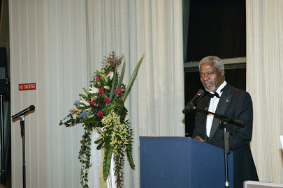Secretary-General Addresses UNCA Awards Dinner