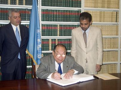 HONDURAS SIGNS WORLD HEALTH ORGANIZATION FRAMEWORK CONVENTION