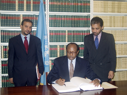 Djibouti Signs Convention against Corruption