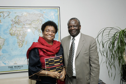 Liberia President-Elect Meets with USG for Political Affairs