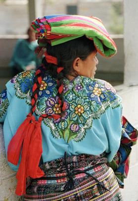 Mulher guatemalteca da região de Quiche, Guatemala. Foto: ONU/John Olsson