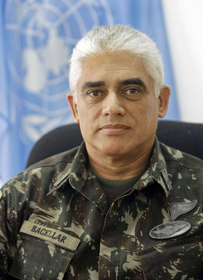Portrait of Force Commander of United Nations Stabilization Mission in Haiti
