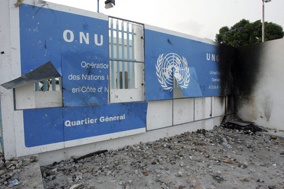 Anti-United Nations Demonstrations Cause Property Damage In Côte d'Ivoire