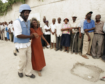 Haitians Turn out in Numbers to Vote