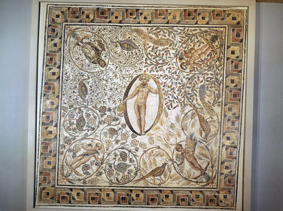 Ancient Mosaic Donated to United Nations by Tunisia