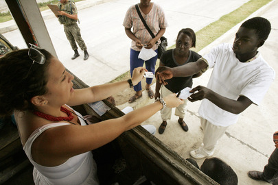 Processing Haiti's Election Ballot Papers Begins