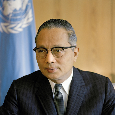 Secretary-General U Thant, UN Photo # 111622