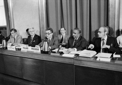 Conference on Disarmament Begins 1984 Session
