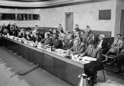 Opening Session of 1991 Disarmament Conference