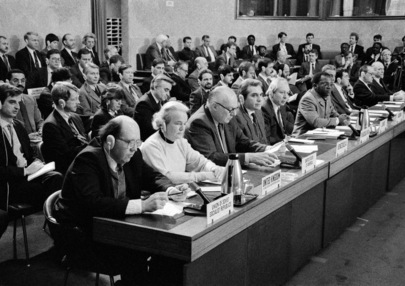 Opening Session of Disarmament Conference
