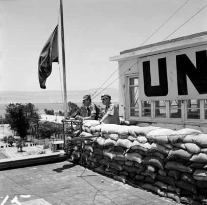 UN Truce Supervision Organization Military Observer Operation in the Suez Canal Sector