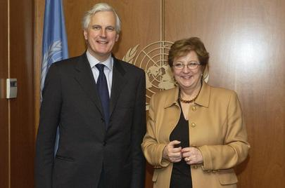 Deputy Secretary-General Meets With European Commission Top Advisor