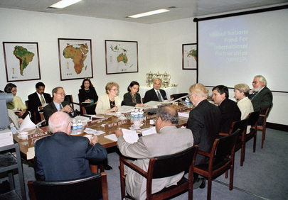 Deputy Secretary-General Meets with Advisory Board of UN Fund For International Partnership