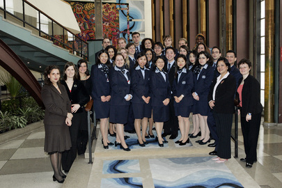 Group Photo of Class of 2006 United Nations Tour Guides