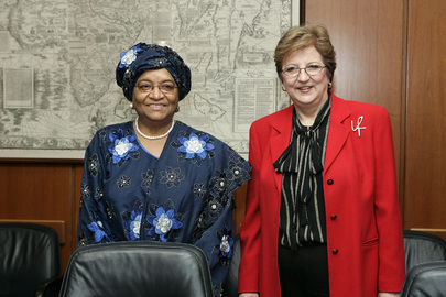 President of Liberia Calls on Deputy Secretary-General