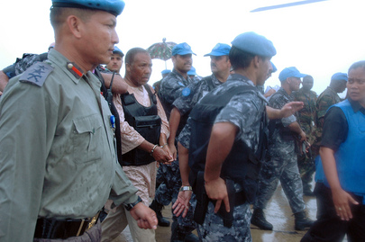 United Nations Peacekeepers Arrest Former Liberian President