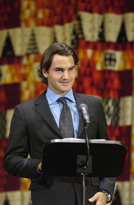 Roger Federer Addresses International Year of Sport and Physical Education Special Event