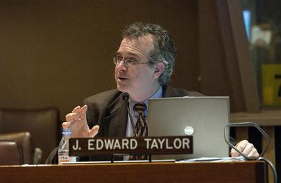 American Professor Adderesses Population and Development Meeting